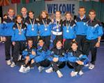 Camp.Europeo Riccione 2004- foto di squadra