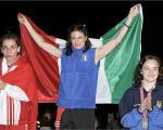 camp. europeo Tonsberg 2005- podio d'oro all'Italia