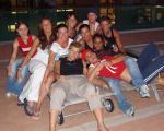 Torneo Internaz. Cascia 2005- la squadra in borghese!!