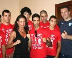 In Sardegna a Stintino per il Memorial Alberto Mura....il team di casa e il grande Cammarelle