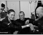 con Ale Duran e Davide Carli
