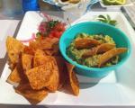 la mia passione:  nachos y guacamole