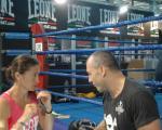 Primo giorno allenamento con Davide Carli