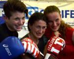 Fine allenamento con le mie sparring!!